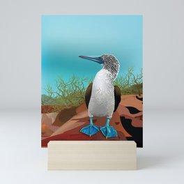 Bluefoot Mini Art Print