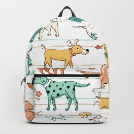Dogs Dogs Dogs Backpack