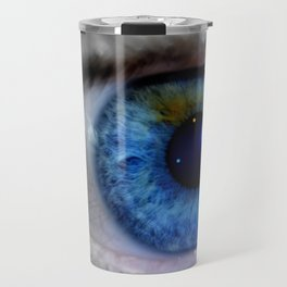Blue eyes Travel Mug