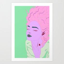 G-L-O-R-I-A Art Print