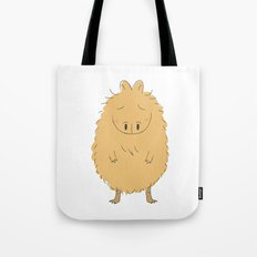 Thinking Capybara Tote Bag