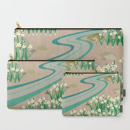 chinese daffodils Carry-All Pouch