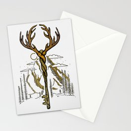 Wilderness Key Stationery Cards