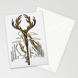 Wilderness Key Stationery Cards