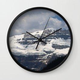 Snow Kissed Wall Clock