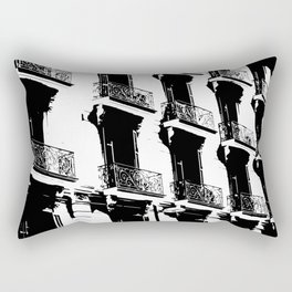 Barcelona facade Rectangular Pillow