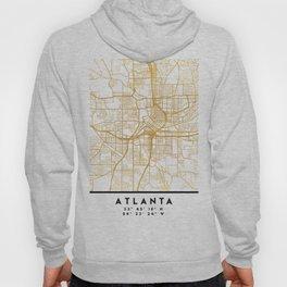 ATLANTA GEORGIA CITY STREET MAP ART Hoody