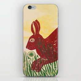 Leaping Hare iPhone Skin