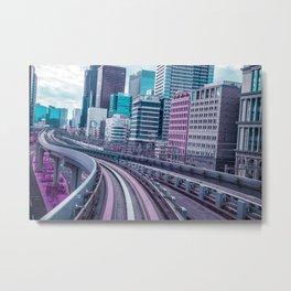 Tokyo - Aeon Flux Metal Print