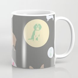 Sweet Puppies Soulful Earnest Protective Naive Lucky Dog Tenacious Focused Hungry Loyal Coffee Mug