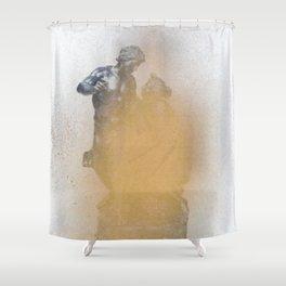 Metallurgy Shower Curtain