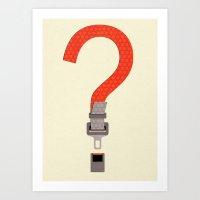 Did you? Art Print