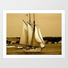 SEA-pia Art Print