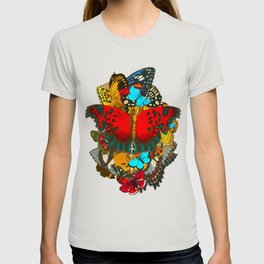 BUTTERFLIES 1- The Colors of the Nature T-shirt