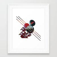 2001 a space odyssey Framed Art Prints featuring 2001 a space odyssey by lina