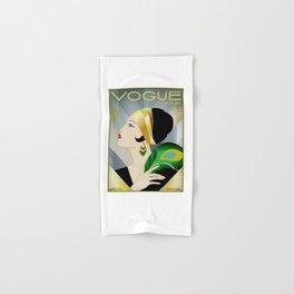 VogueVintage 1929 Magazine Flapper Hand & Bath Towel