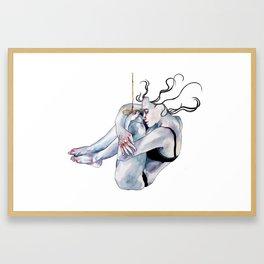Opalescent. Framed Art Print