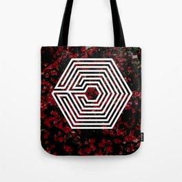 OVERDOSE floral Tote Bag