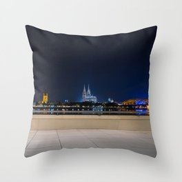 COLOGNE 25 Throw Pillow