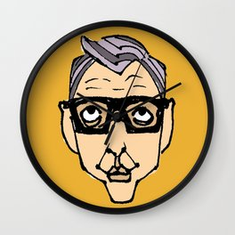 Jeff Goldblum Wall Clock