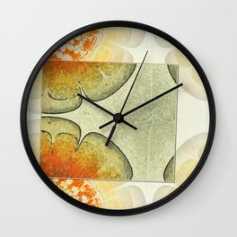 Minimaxes Character Flowers  ID:16165-104309-11261 Wall Clock