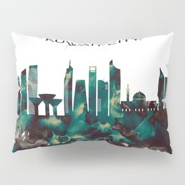 Kuwait City Skyline Pillow Sham