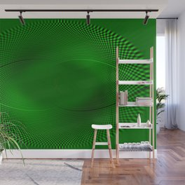 Not easy being Green Wall Mural