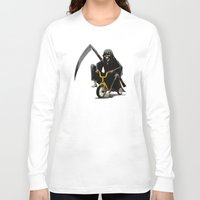 death Long Sleeve T-shirts featuring Death by Antracit