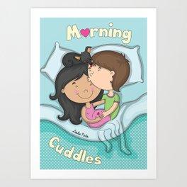 Morning Cuddles Art Print