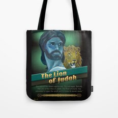 The Lion Of Judah 1 Tote Bag