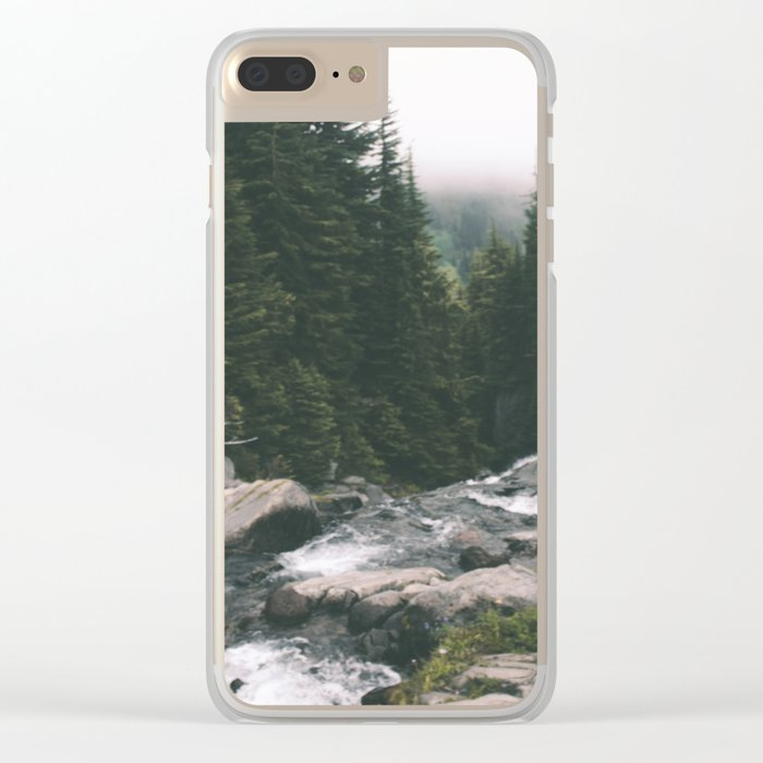 Washington Clear iPhone Case