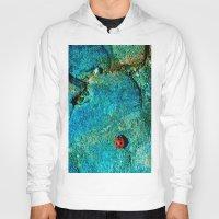 ladybug Hoodies featuring LadyBug by Sandy Broenimann