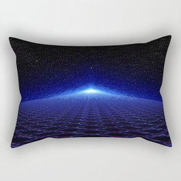 Time Portal In Space Rectangular Pillow