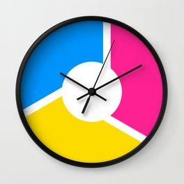 Pansexal Pride Flag Circle Wall Clock
