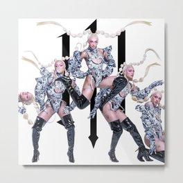 PABLLO VITTAR - 111 Metal Print
