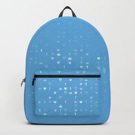 Kingdom Hearts Blue Pattern Backpack