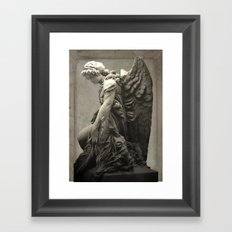 ColnaAngel5 Framed Art Print