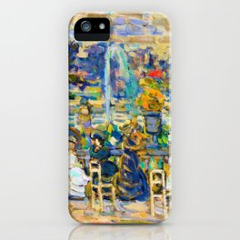 In Luxembourg Gardens - Digital Remastered Edition iPhone Case