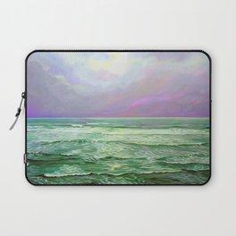 Wave Meditation by Amanda Martinson Laptop Sleeve