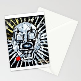 Carnival Clown Stationery Cards