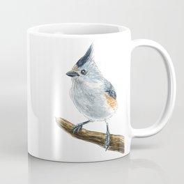 Titmouse bird watercolor Coffee Mug