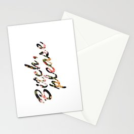 Bitch, Please Floral Stationery Cards