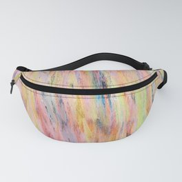 Color gradient and texture 42 Fanny Pack