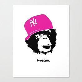 I'nstein Monkey Canvas Print