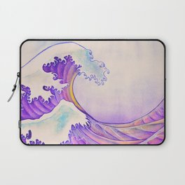 The Great Sunset Wave Laptop Sleeve