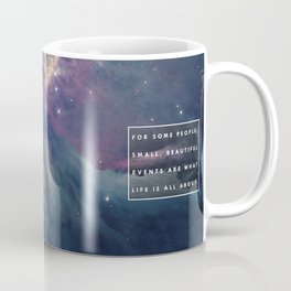 What Life Is All About - Doctor Who Coffee Mug