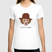 johnny depp T-shirts featuring Johnny Depp by Λdd1x7