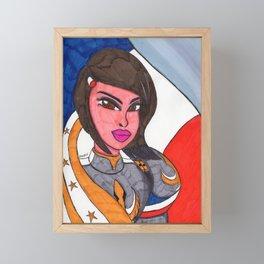 Joan Framed Mini Art Print