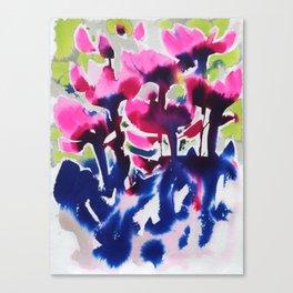 Botanika - Abstract Floral Watercolor Canvas Print