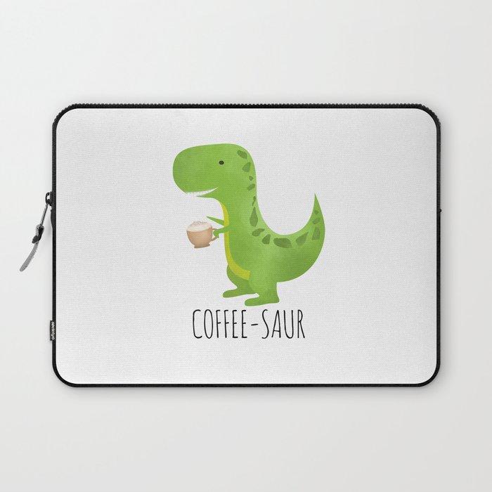 Coffee-saur Laptop Sleeve